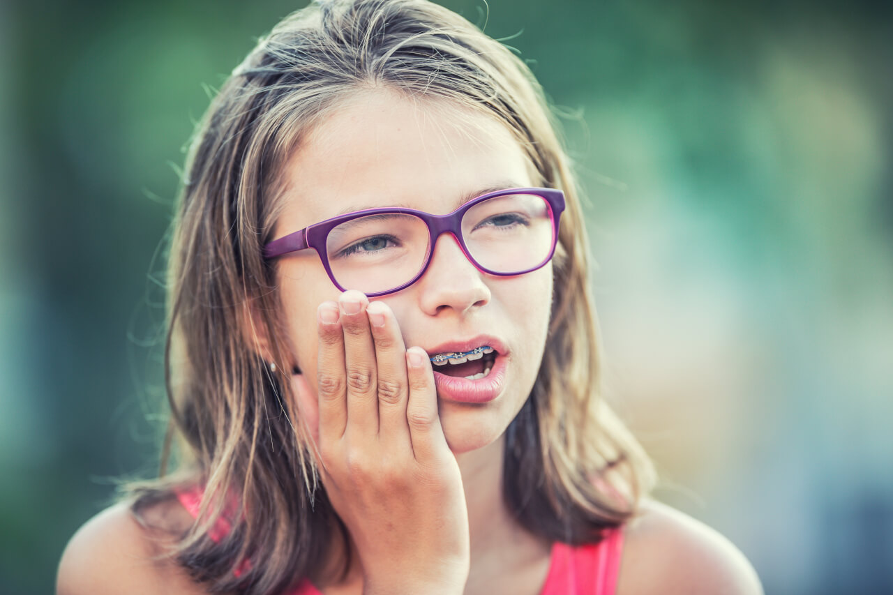 swollen gums with braces